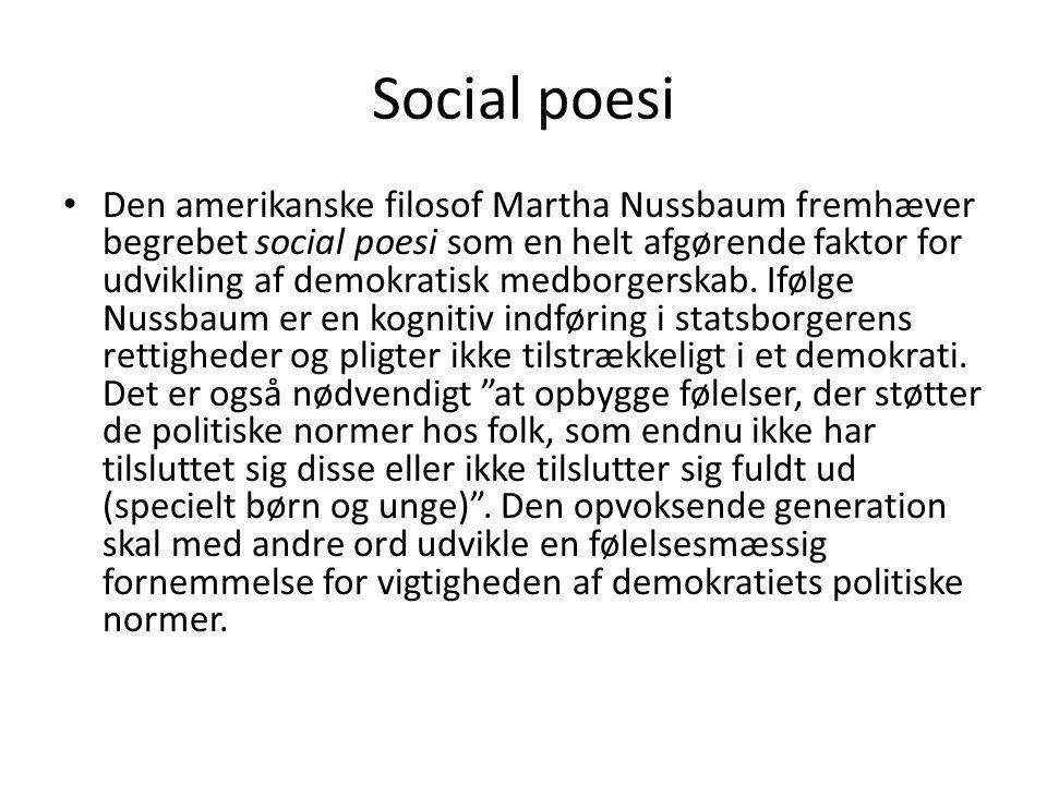 Social poesi