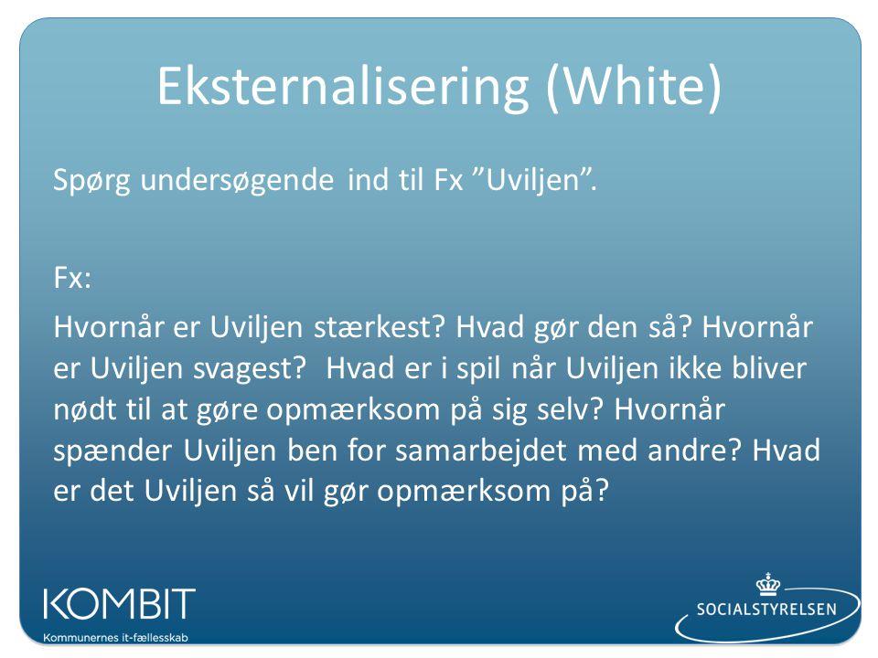 Eksternalisering (White)