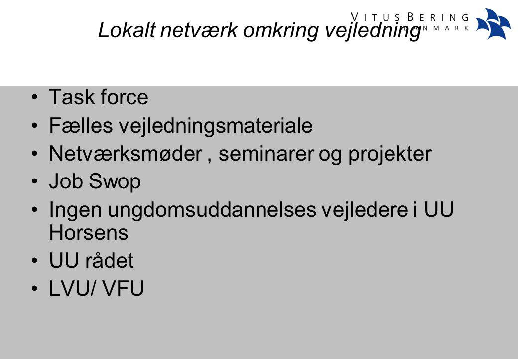 Lokalt netværk omkring vejledning