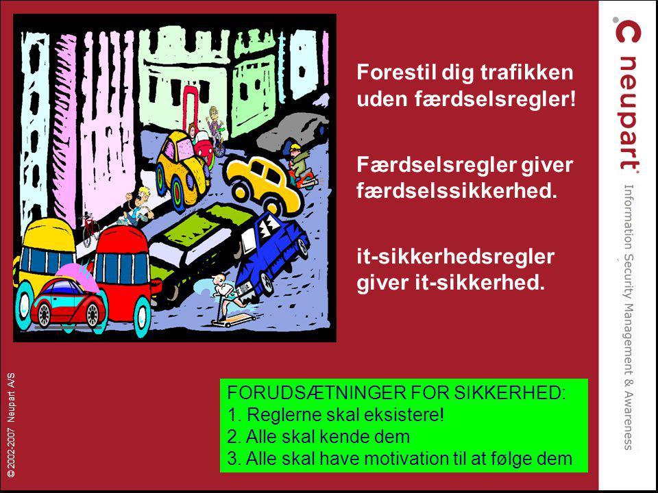 Forestil dig trafikken uden færdselsregler!