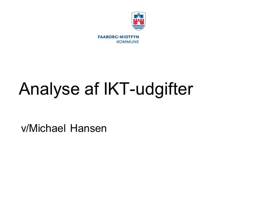 Analyse af IKT-udgifter
