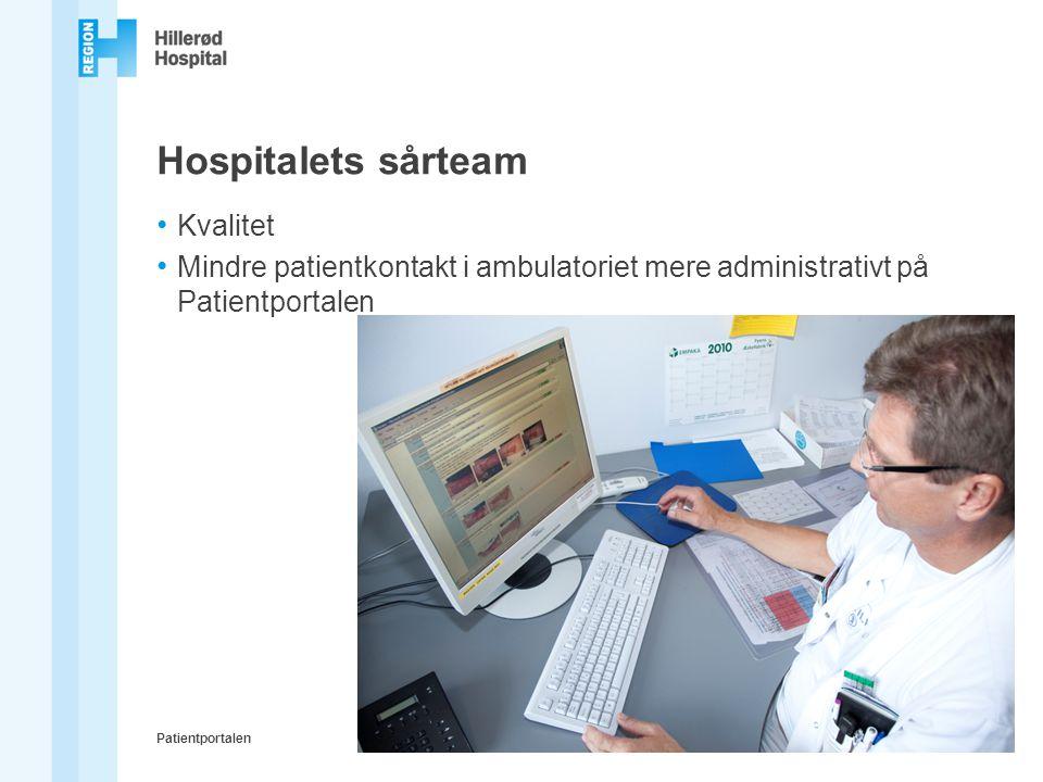 Hospitalets sårteam Kvalitet