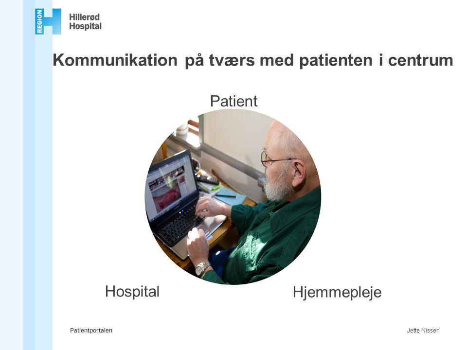 Kommunikation på tværs med patienten i centrum