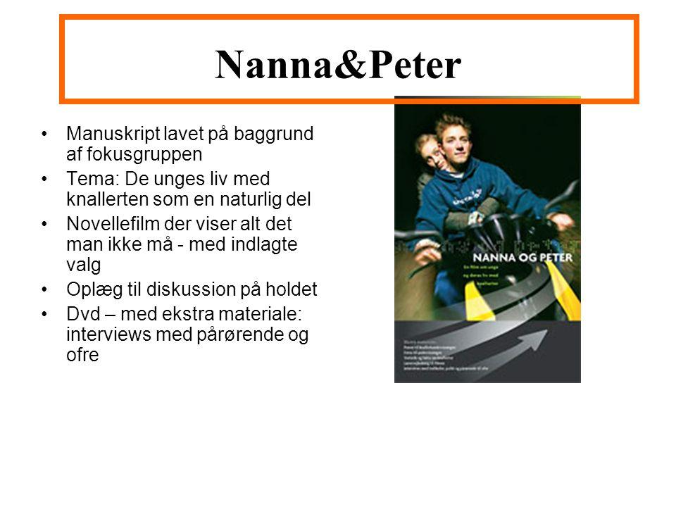 Nanna&Peter Manuskript lavet på baggrund af fokusgruppen