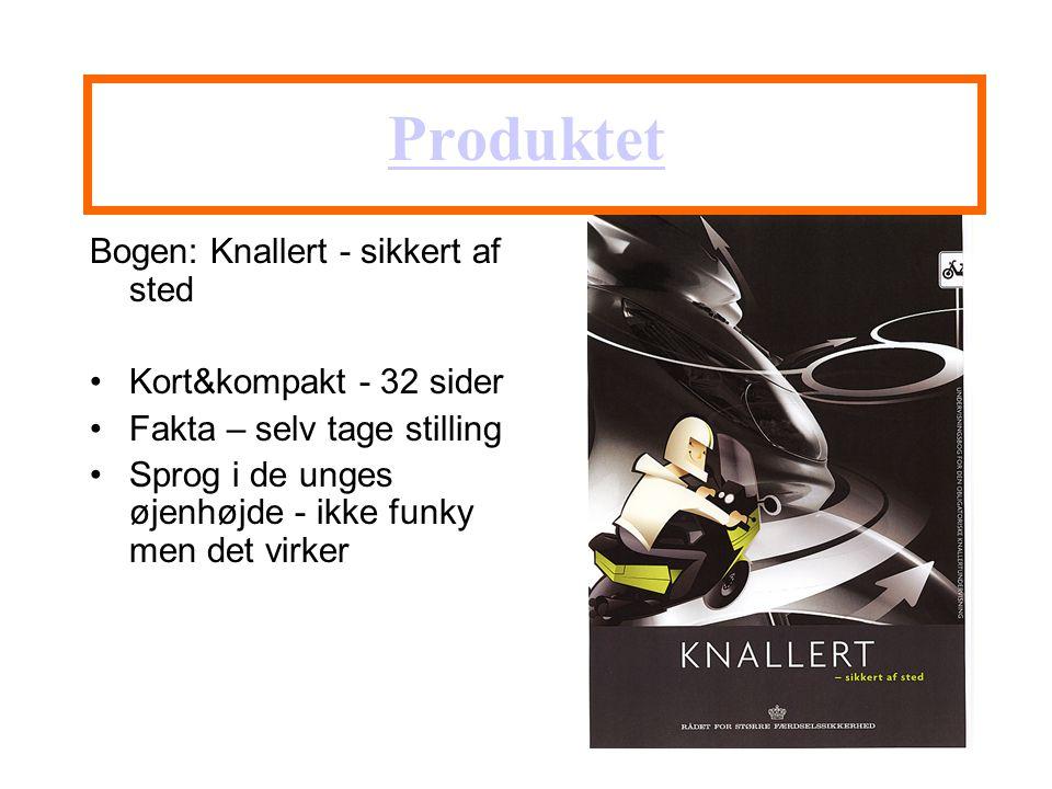 Produktet Bogen: Knallert - sikkert af sted Kort&kompakt - 32 sider