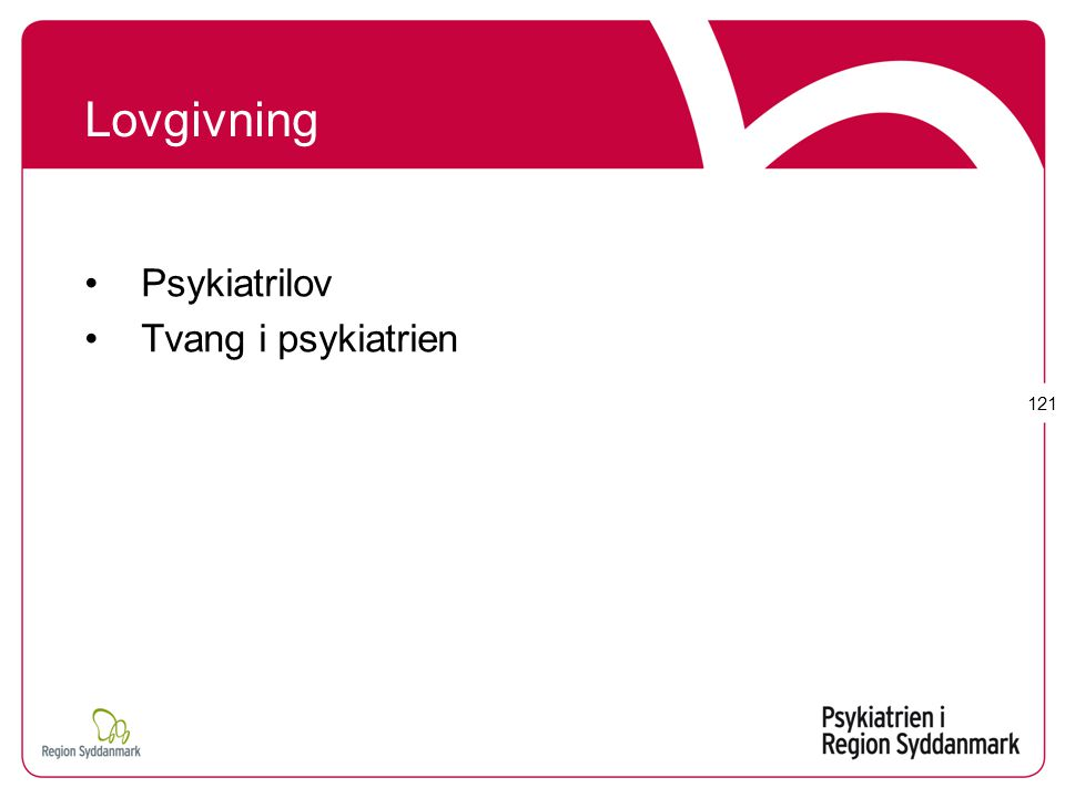 Psykiatrilov Tvang i psykiatrien