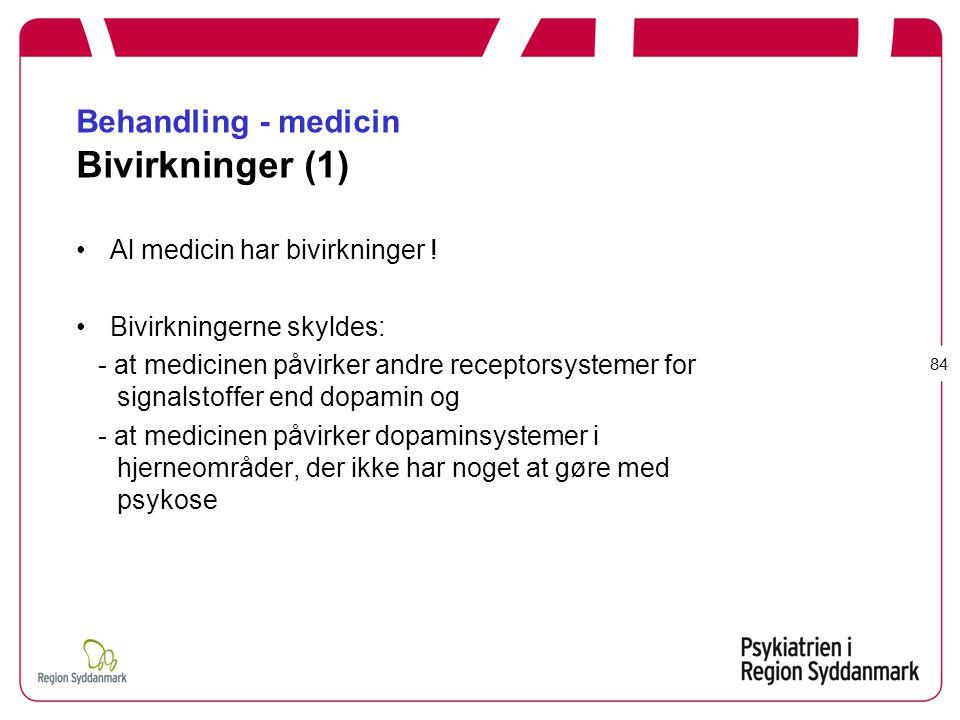 Behandling - medicin Bivirkninger (1)