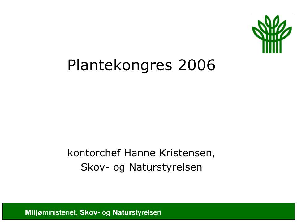 Plantekongres 2006 kontorchef Hanne Kristensen,