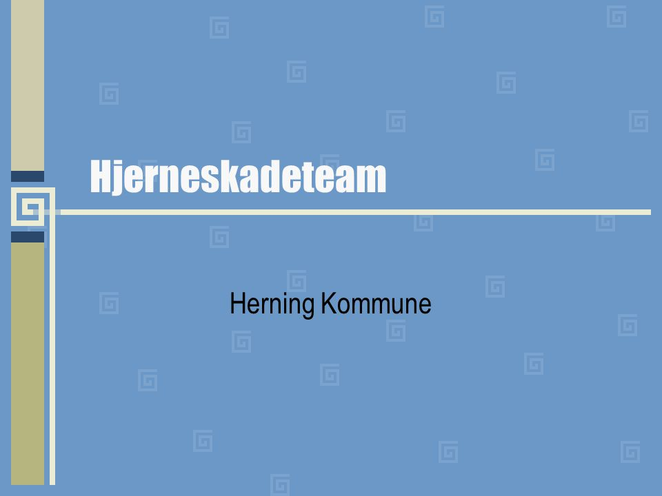 Hjerneskadeteam Herning Kommune