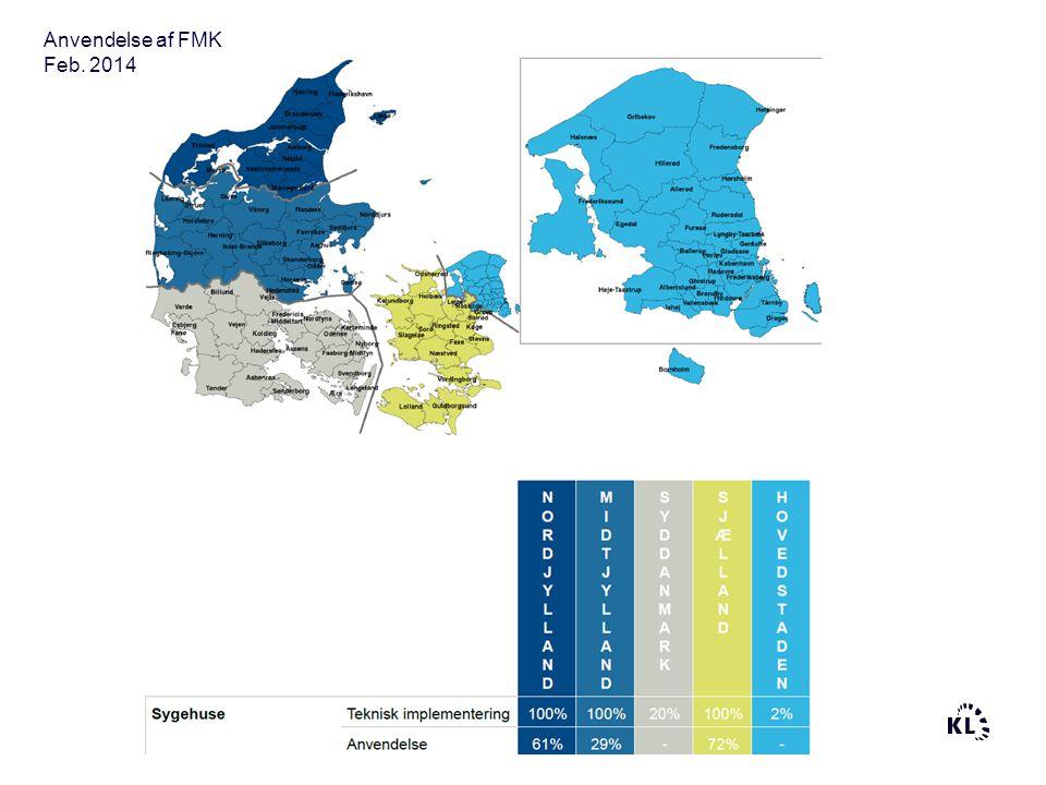 Anvendelse af FMK Feb. 2014