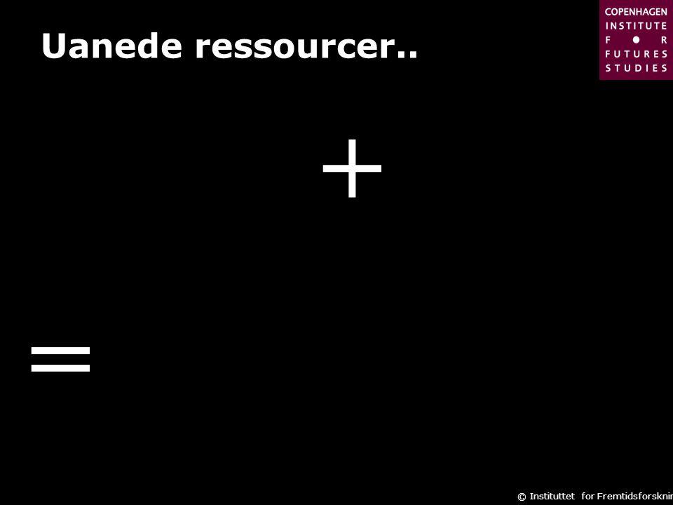 Uanede ressourcer.. + =