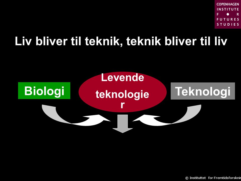 Liv bliver til teknik, teknik bliver til liv