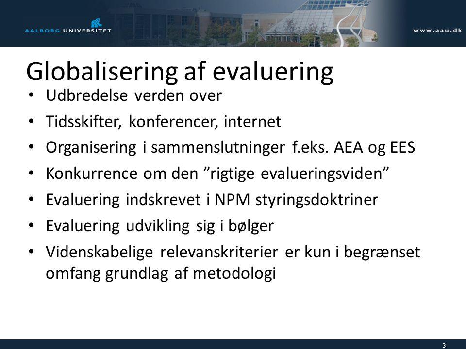 Globalisering af evaluering