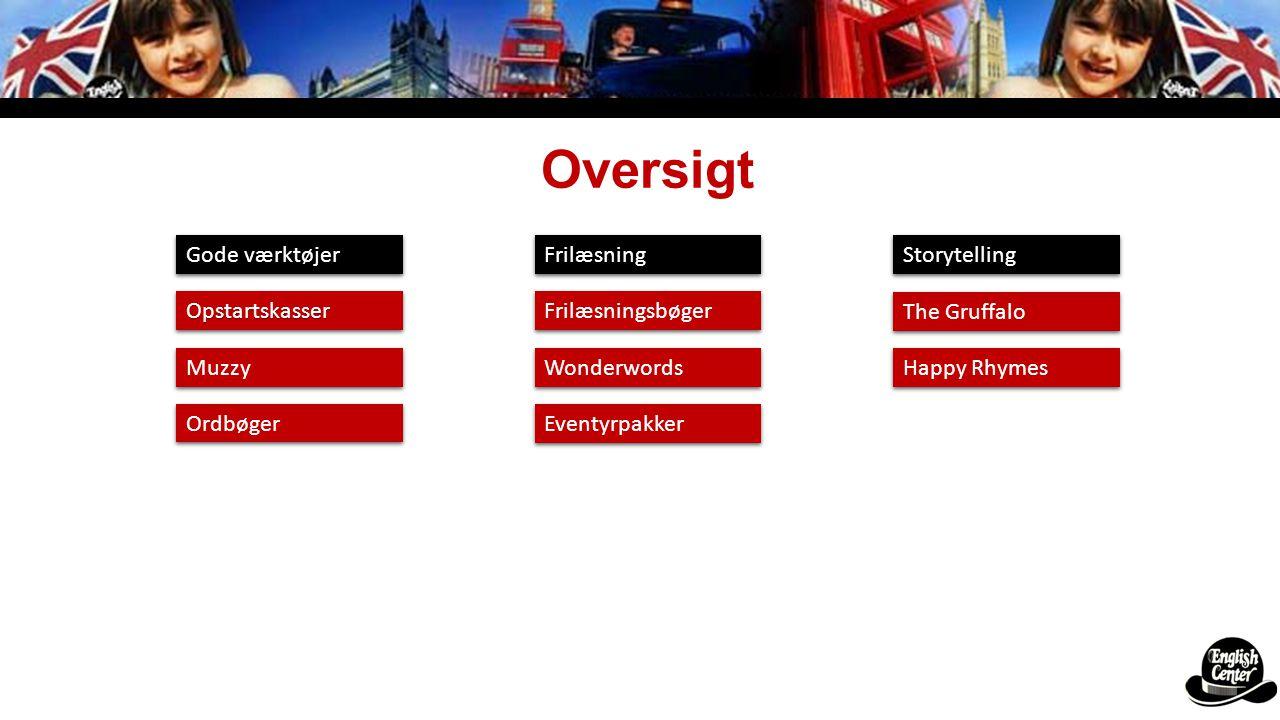 Oversigt Gode værktøjer Frilæsning Storytelling Opstartskasser