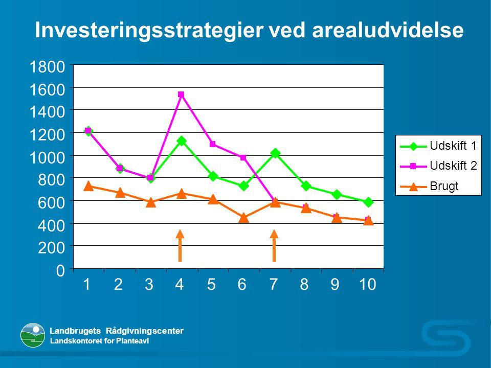 Investeringsstrategier ved arealudvidelse