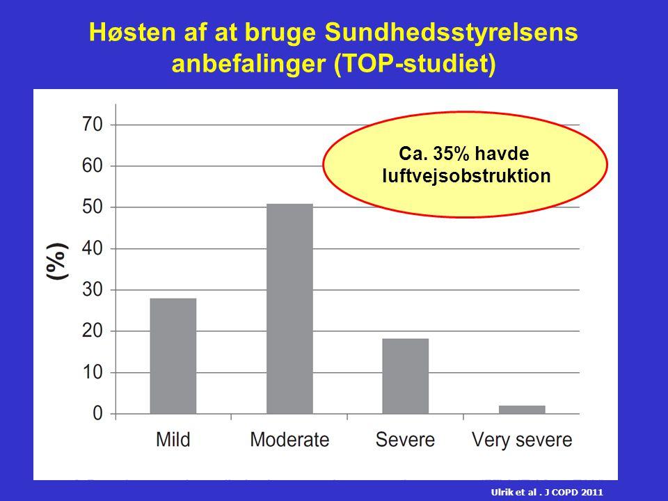 Høsten af at bruge Sundhedsstyrelsens anbefalinger (TOP-studiet)