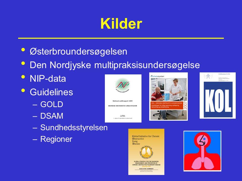 Kilder Østerbroundersøgelsen Den Nordjyske multipraksisundersøgelse