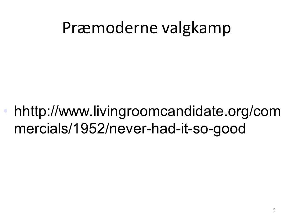 5 Praemoderne Valgkamp H Livingroomcandidateorg Commercials 1952 Never Had It So Good