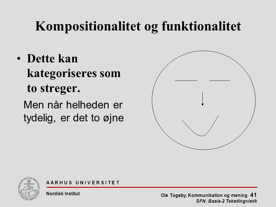 Kompositionalitet og funktionalitet