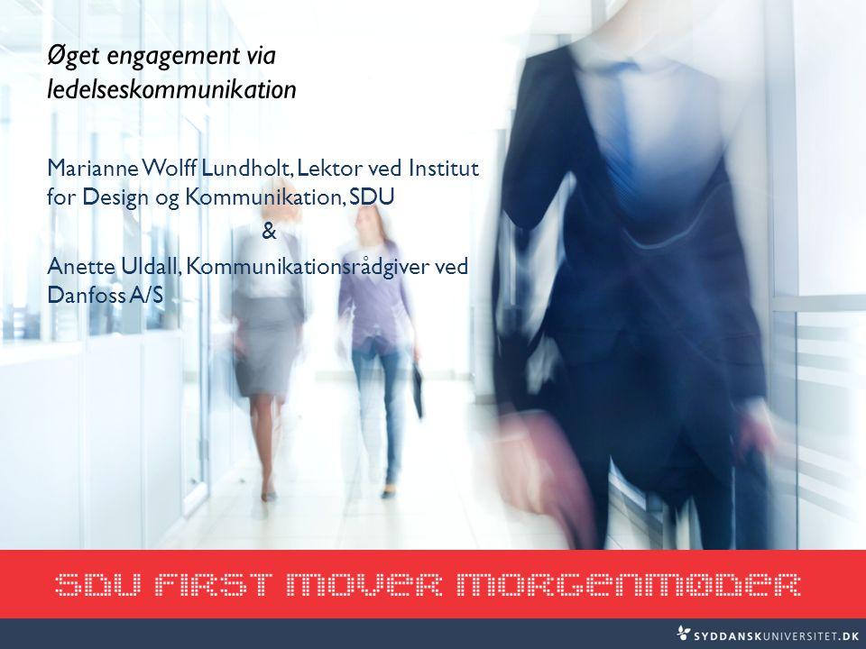 Øget engagement via ledelseskommunikation