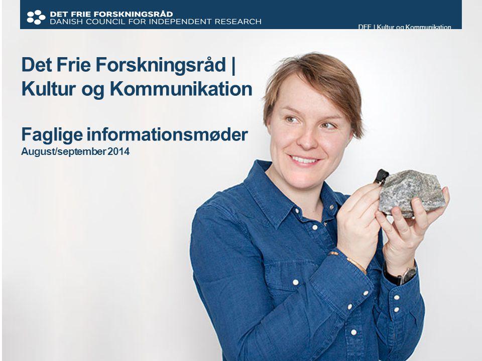DFF | Kultur og Kommunikation