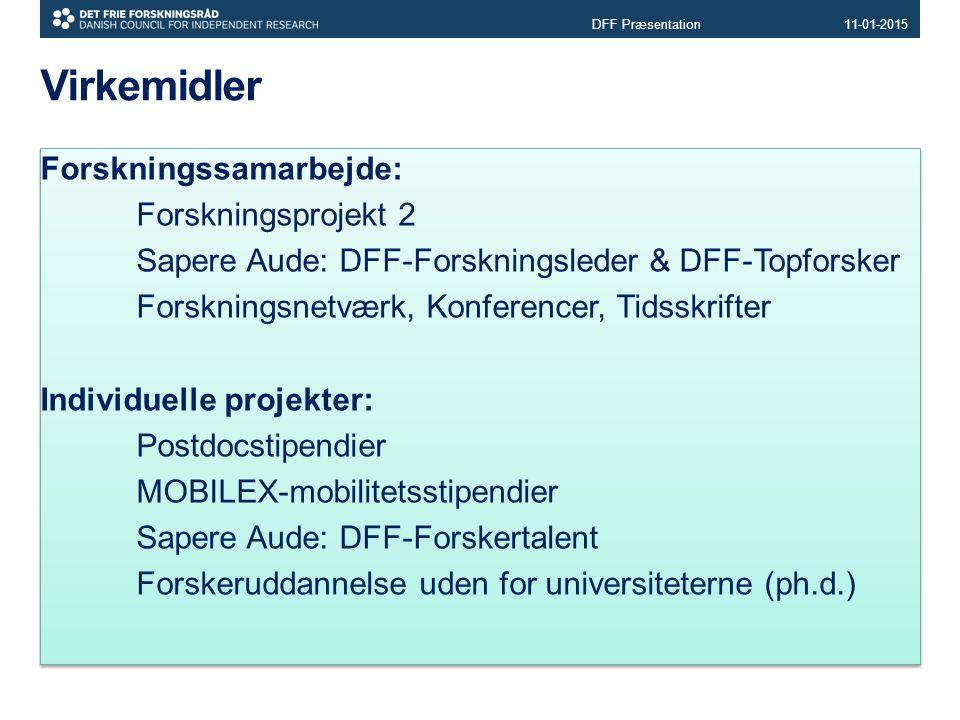 DFF Præsentation 08-04-2017. Virkemidler.