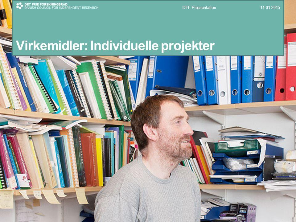 Virkemidler: Individuelle projekter