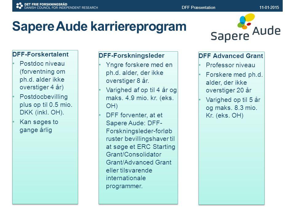 Sapere Aude karriereprogram