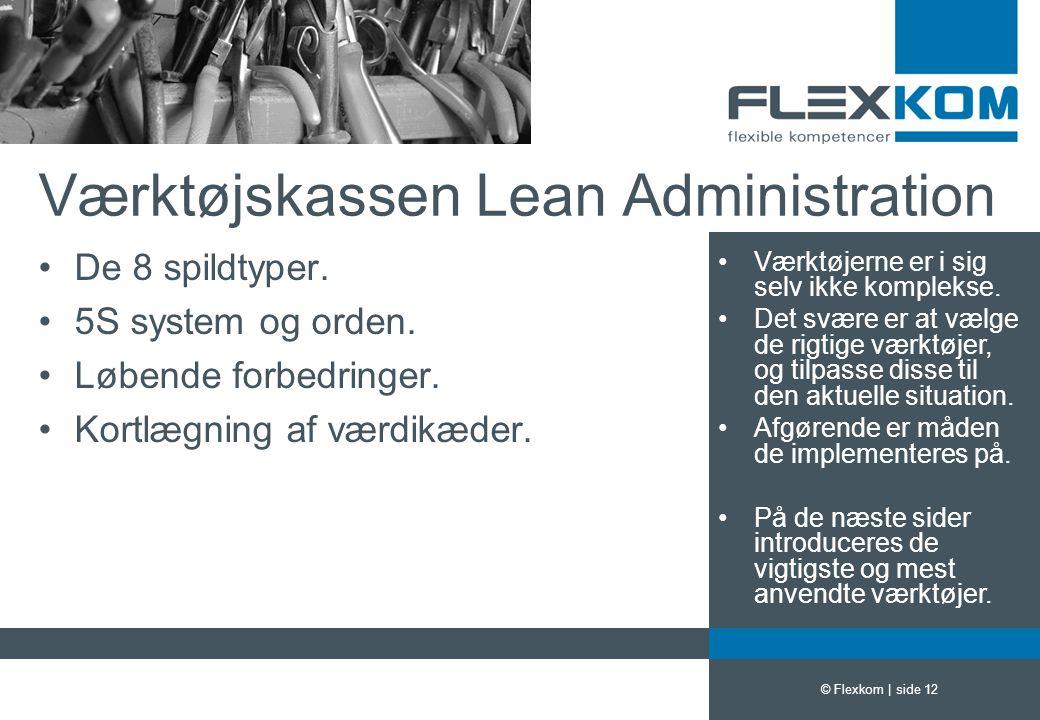 Værktøjskassen Lean Administration