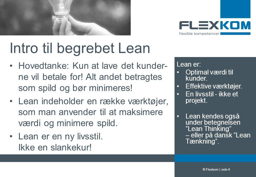 Intro til begrebet Lean