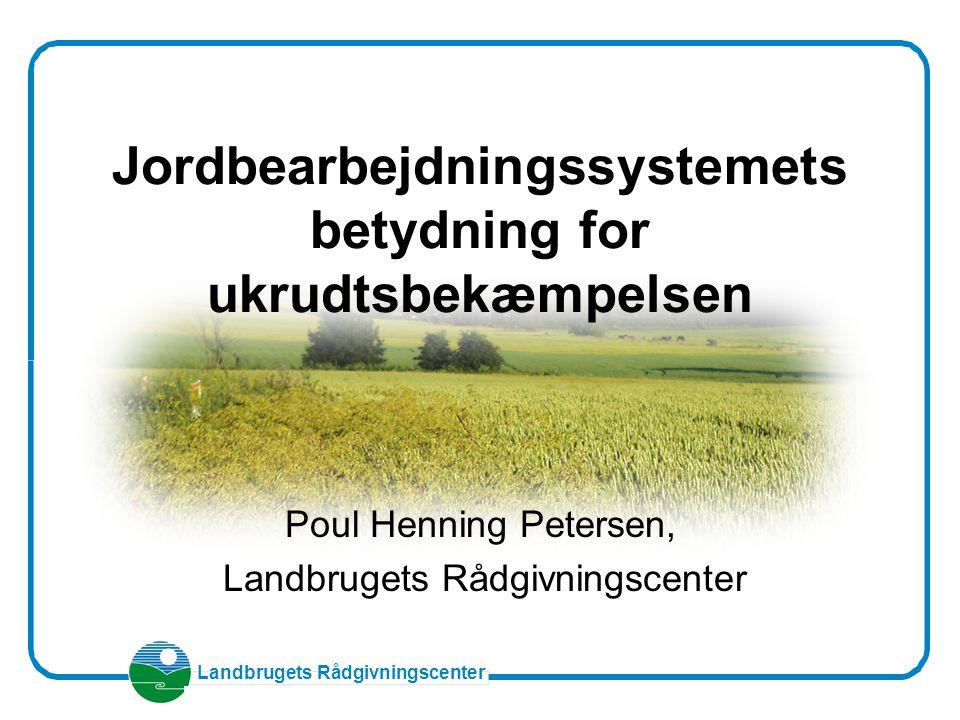 Jordbearbejdningssystemets betydning for ukrudtsbekæmpelsen
