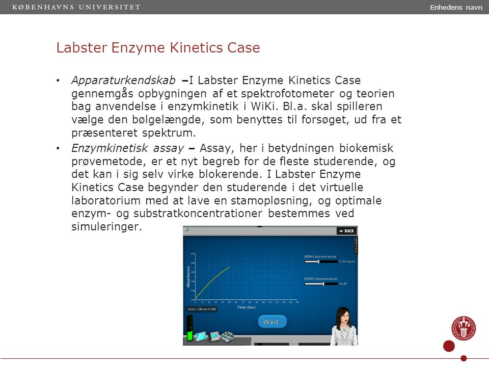 Labster Enzyme Kinetics Case