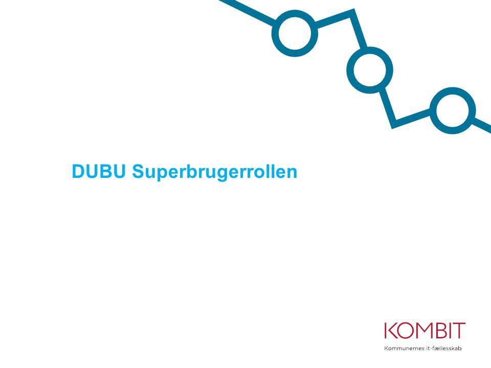 DUBU Superbrugerrollen