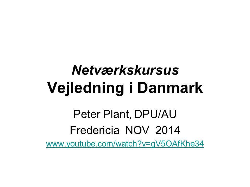 Netværkskursus Vejledning i Danmark