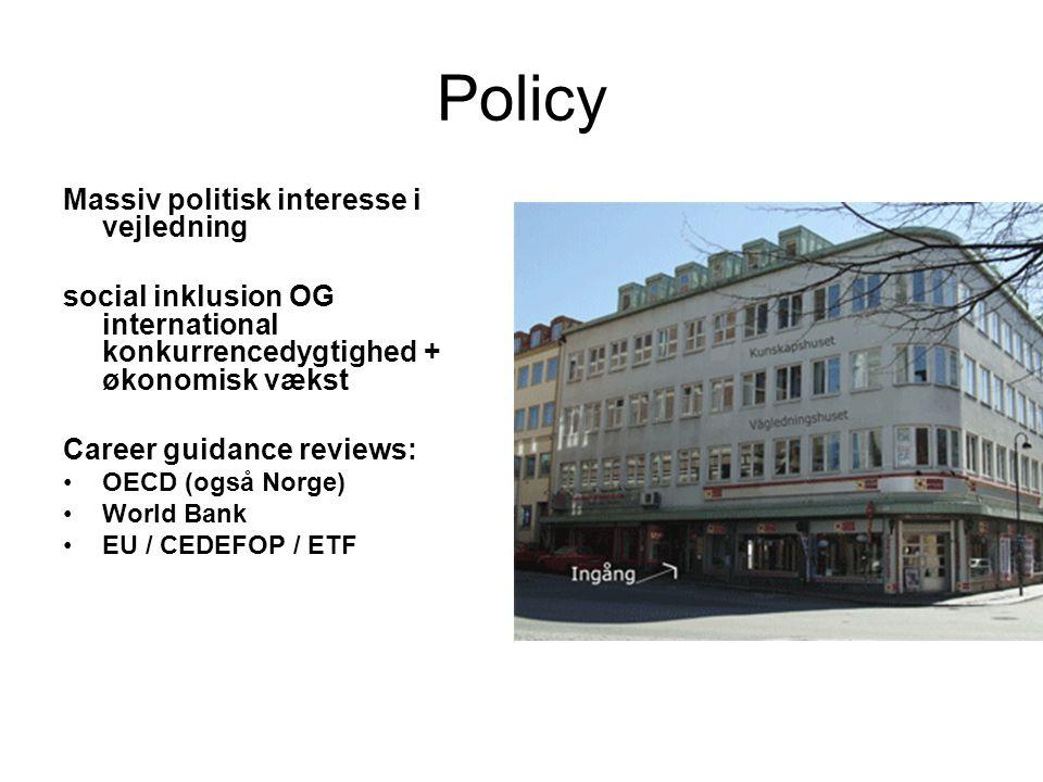 Policy Massiv politisk interesse i vejledning