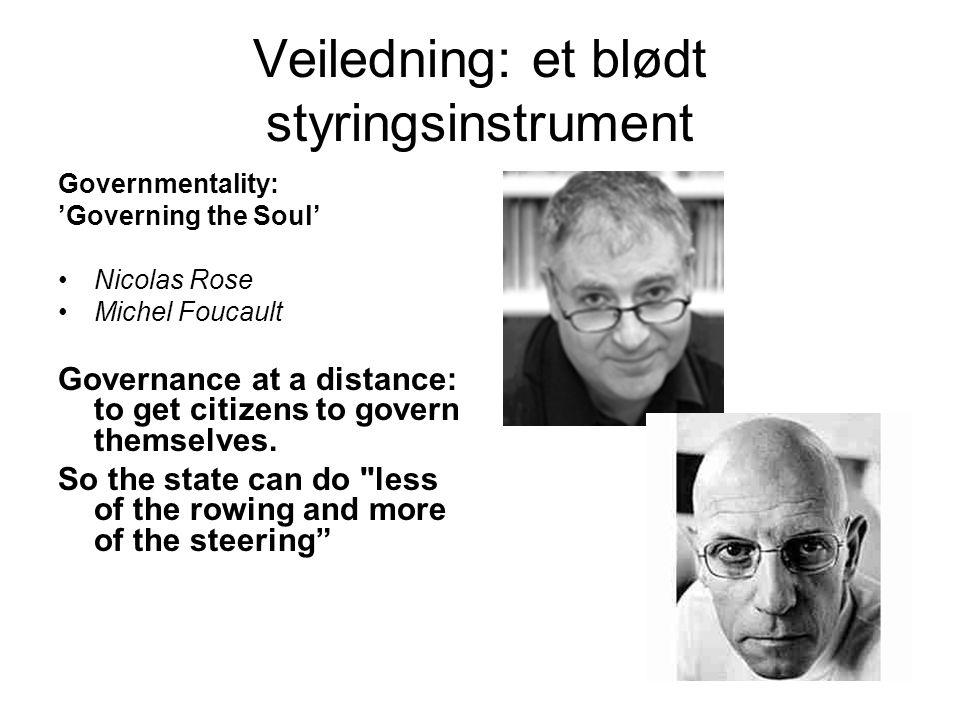 Veiledning: et blødt styringsinstrument