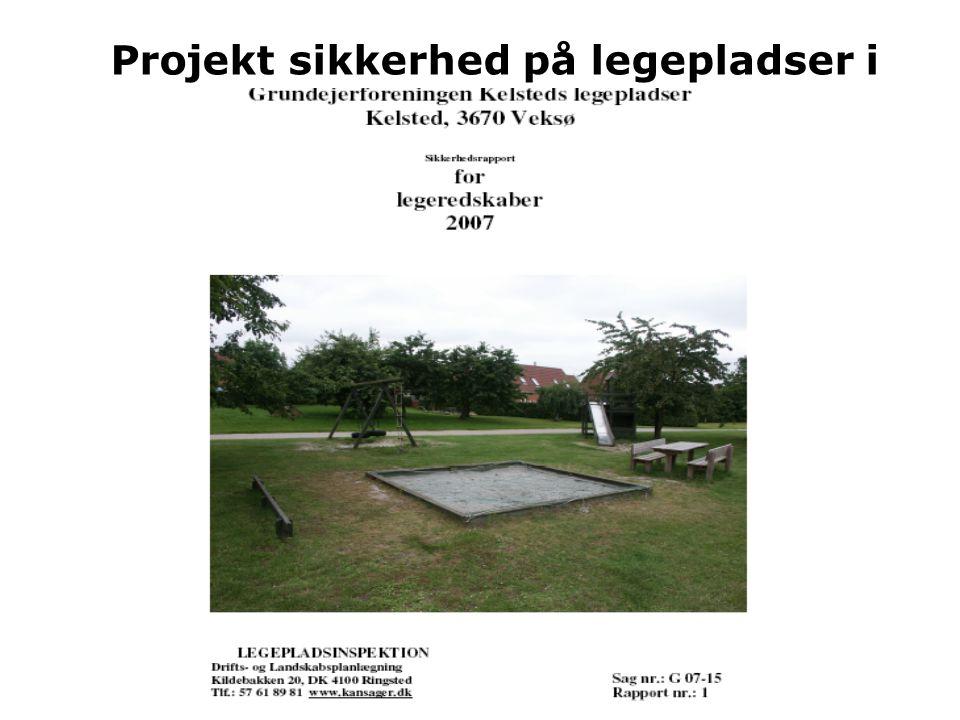 Projekt sikkerhed på legepladser i