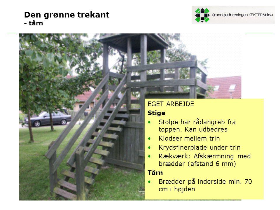 Den grønne trekant - tårn
