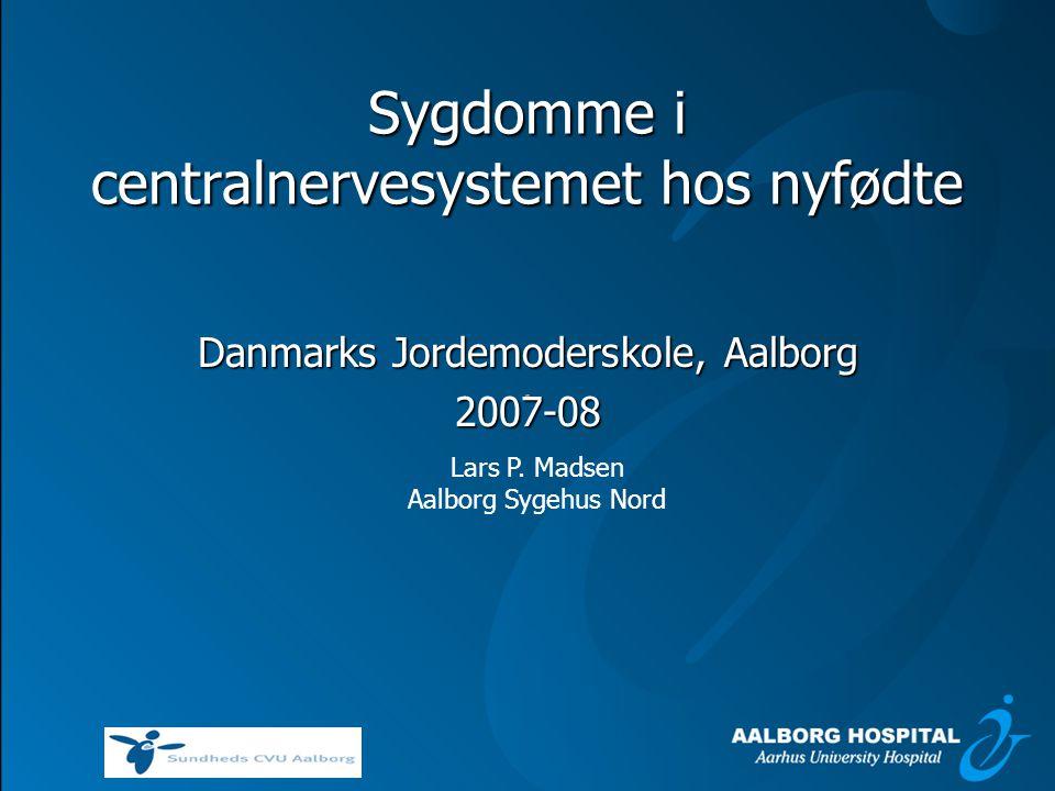 Sygdomme i centralnervesystemet hos nyfødte