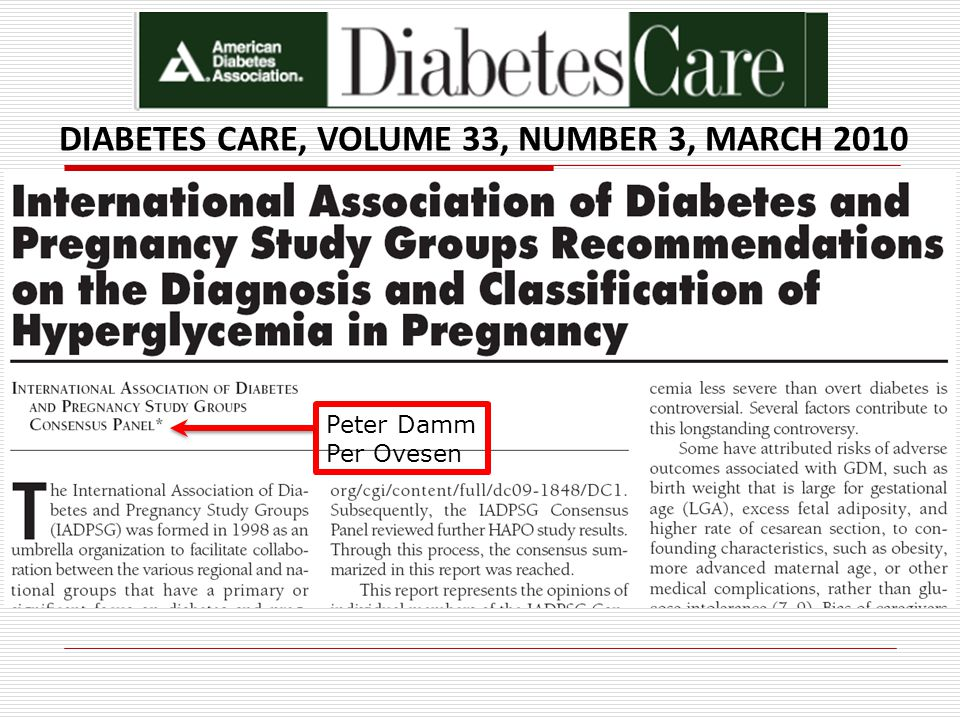 DIABETES CARE, VOLUME 33, NUMBER 3, MARCH 2010