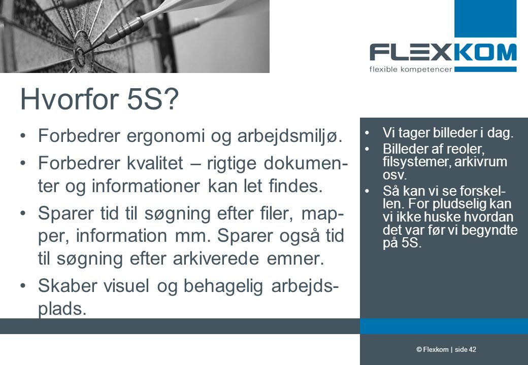 Hvorfor 5S Forbedrer ergonomi og arbejdsmiljø.