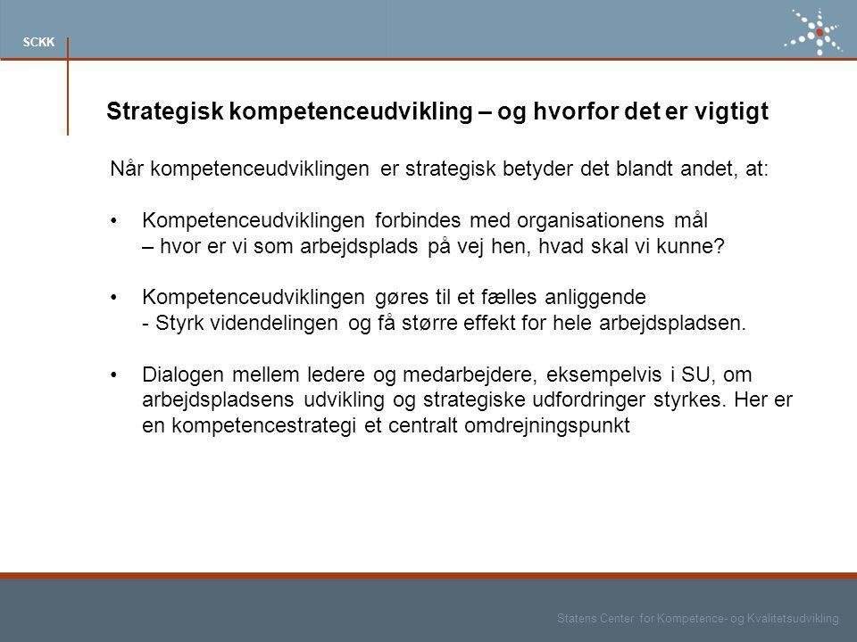 Strategisk kompetenceudvikling – og hvorfor det er vigtigt