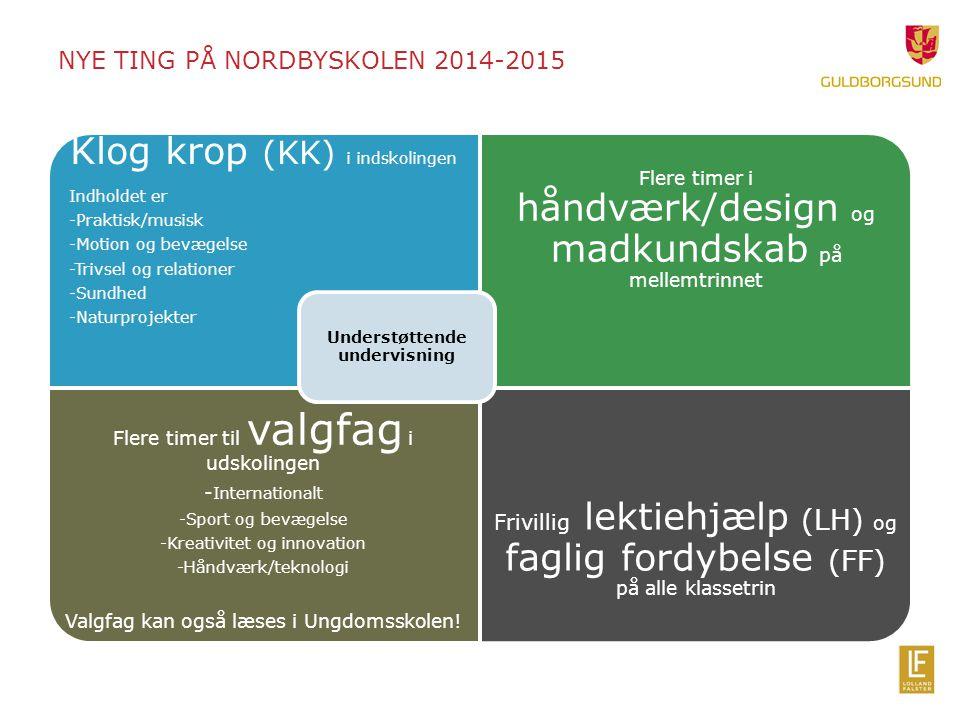 NYE ting på nordbyskolen 2014-2015