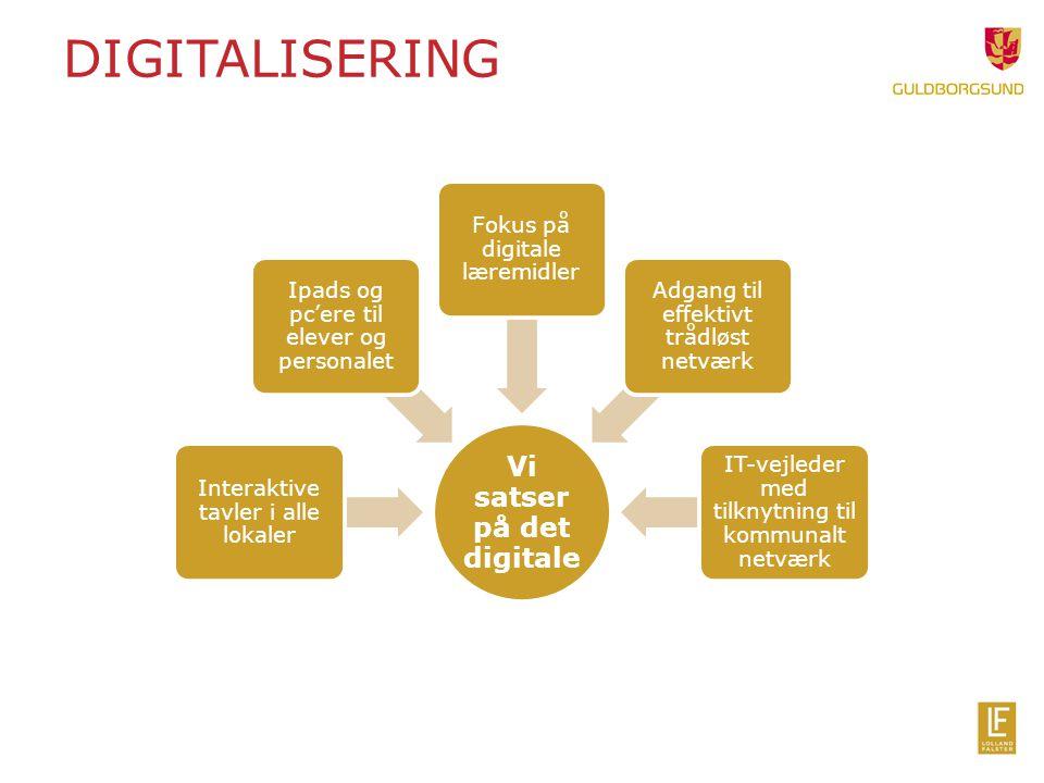 Vi satser på det digitale