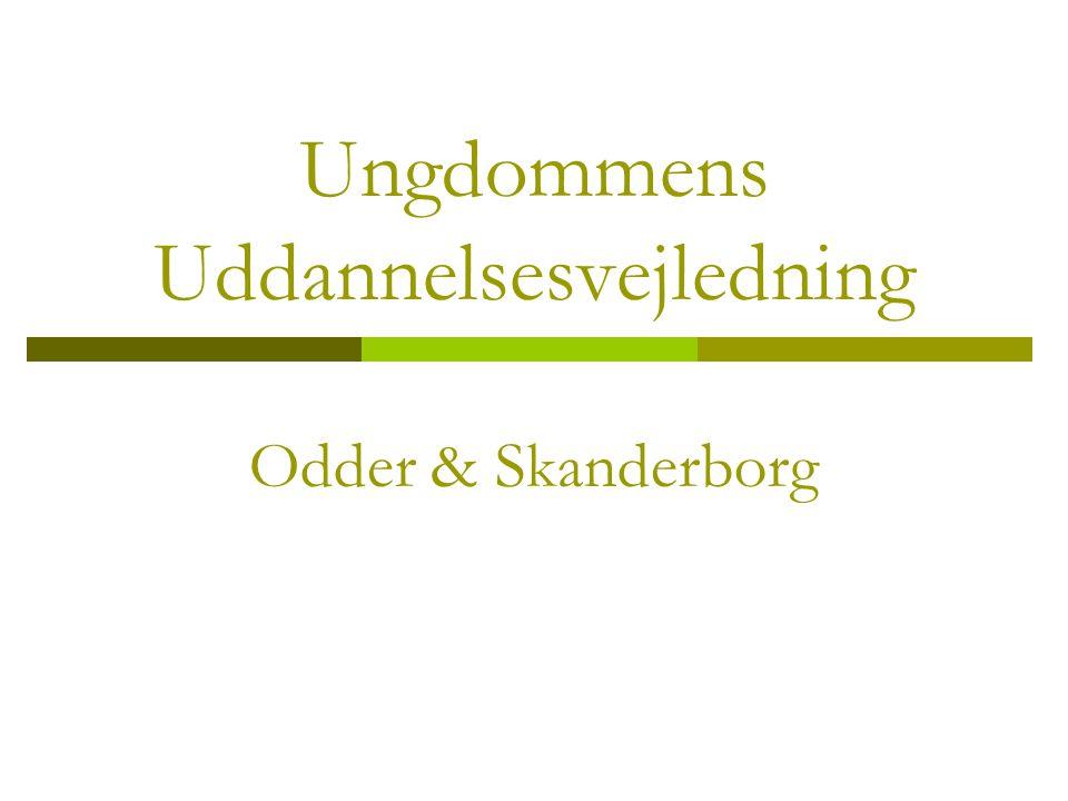 Ungdommens Uddannelsesvejledning Odder & Skanderborg