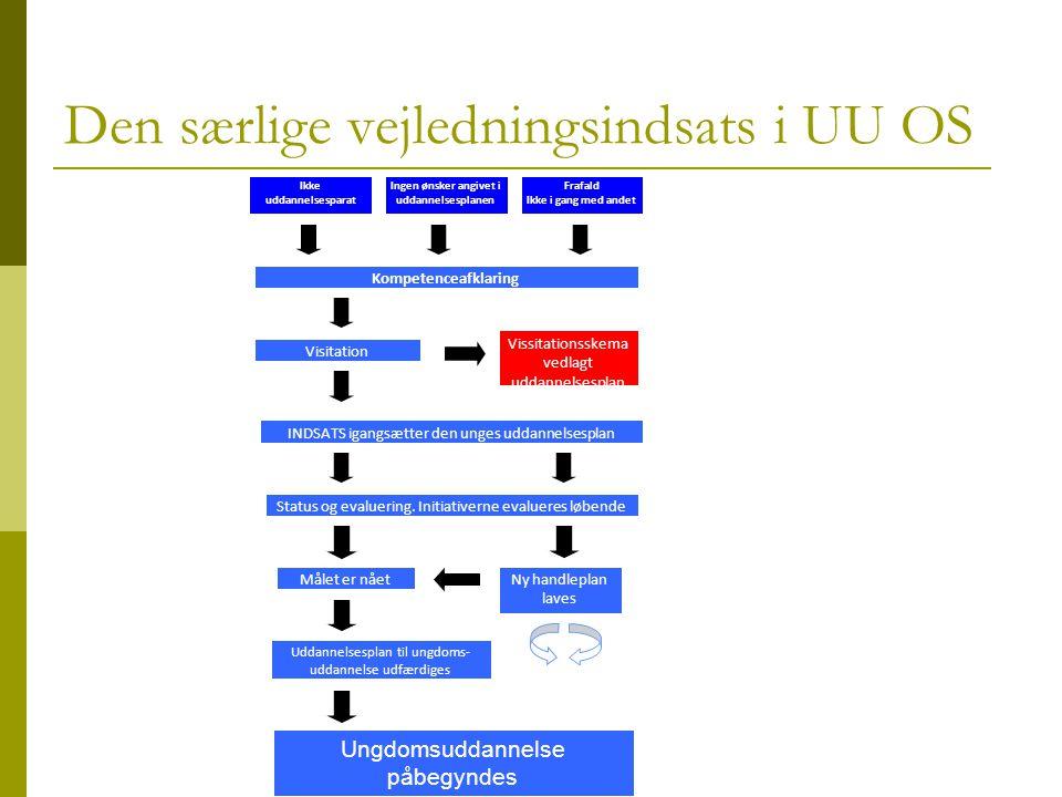 Den særlige vejledningsindsats i UU OS