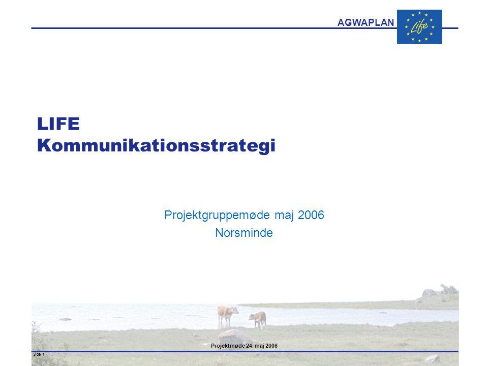 LIFE Kommunikationsstrategi