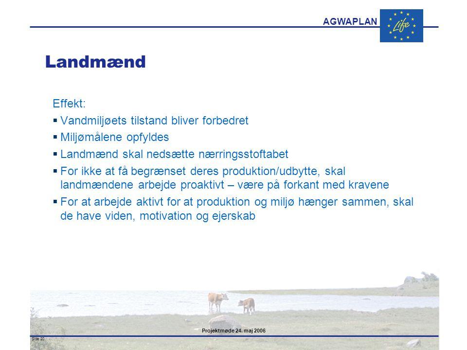 Landmænd Effekt: Vandmiljøets tilstand bliver forbedret