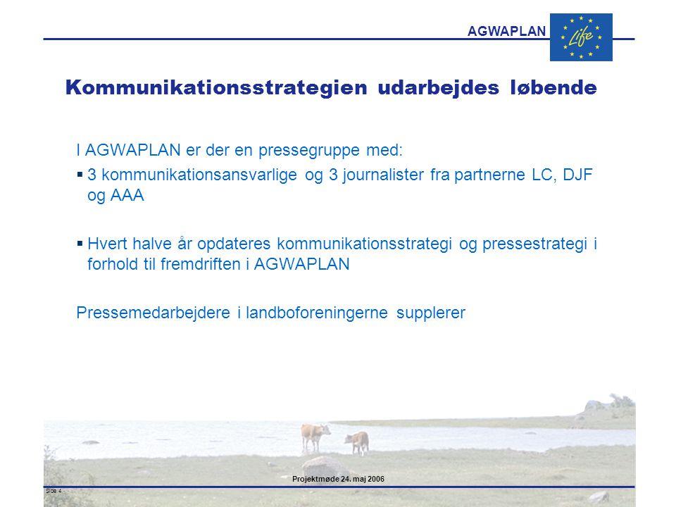 Kommunikationsstrategien udarbejdes løbende