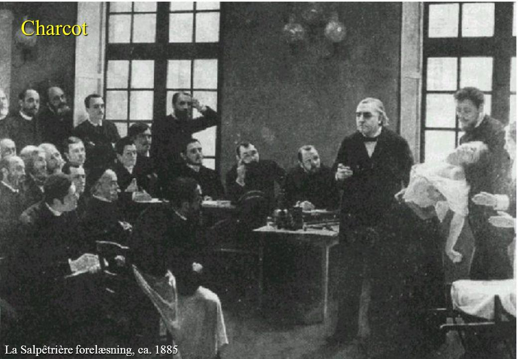 Charcot Charcot La Salpêtrière forelæsning, ca. 1885 Gade